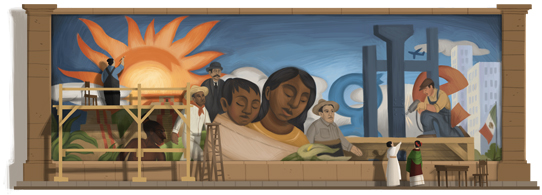 December 8th 2011 - Diego Rivera's 125th birthday