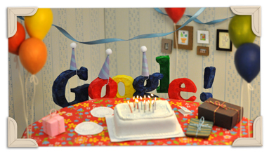 September 27th 2011 - Google's 13th Birthday