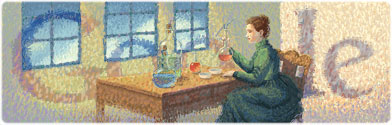 November 7th 2011 - Marie Curie's 144th Birthday